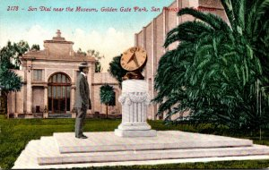 California San Francisco GOlden Gate Park Sun Dial Near The Museum