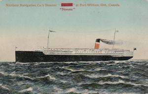 FORT WILLIAM, Ontario, 00-10s; Str. Noronic