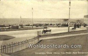 The Park New Brighton UK, England, Great Britain 1911