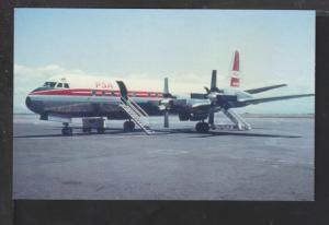 Pacific Southwest,Lockheed L-188 Postcard