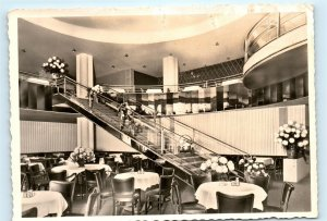 Konzert Cafe Hindenburgbau Germany Vintage 4x6 Photo Postcard E01