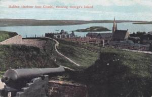 Halifax Harbour From Citadel, Showing George's Island, Nova Scotia, Canada, 1...