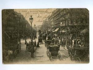 138568 France PARIS Bulevard Montmartre SIGNBOARDS ADVERTISING
