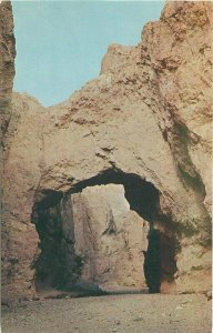 California Death Valley Monument 1960 Postcard Natural Bridge Frasher 7434