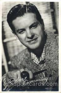 Robert Cummings Actor, Actress, Movie Star, Postcard Post Card Actor Actress,...