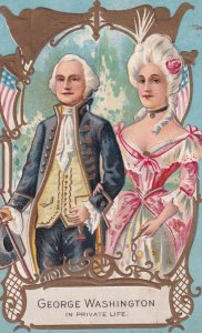 President George Washington in Private Life, Gold Detail, 1900-10s