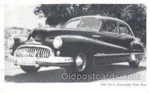 1948 Buick Road master Four Door Automotive, Autos, Cards Old Vintage Antique...