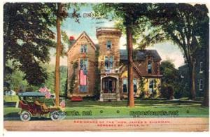Hon James S Sherman, Genesee St, Utica NY