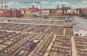 Illinois Chicago The Union Stock Yards Curteich