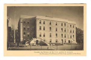 Monastere des Religieux de Ste-Croix, Quebec, Canada 30-50s