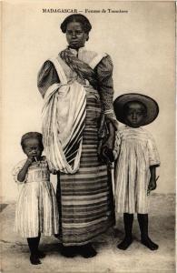 CPA Femme de Tamatave. MADAGASCAR (626166)