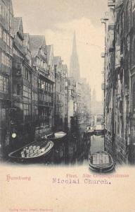 Fleet, Alte Groningerstrasse, Hamburg, Germany 1900-1910s
