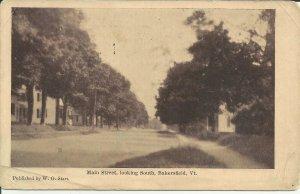 Bakersfield, VT., Main Street, Looking South