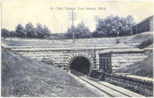 St. Clair Railroad Tunnel Port Huron Michigan MI