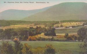 Vermont Manchester Mount Equinox From The Valley Road Albertype
