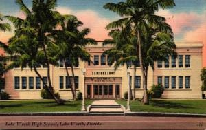 Florida Lake Worth High School 1956