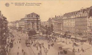 Belgium Brussels Place de Brouckere