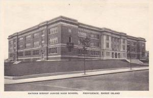 Rhode Island Providence Nathan Bishop Junior High School Albertype
