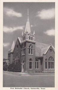 Texas Gainsville First Methodist Church