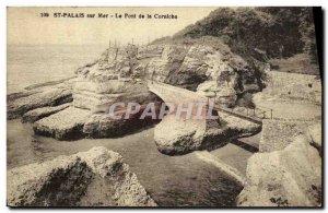 Postcard Old St Palais sur Mer Corniche Bridge