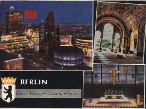 Germany Berlin Kaiser Wilhelm Gedaechtniskirche Multi View