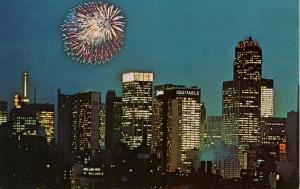 NY - New York City. Fireworks