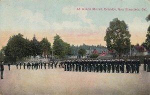 SAN FRANCISCO , California , PU-1911 ; At Guard Mount , Presidio