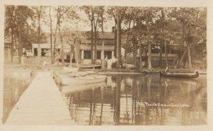 RP: HASTINGS , Michigan , 1910s ; The Trail's End , Gun Lake