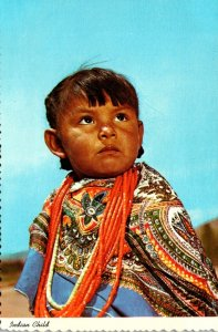 New Mexico Indian Child Of The Southwest