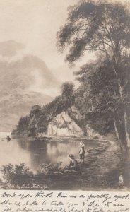 RP: Path by Loch Katrine , 1900-10s ; TUCK 5080