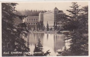 Canada British Columbia Chateau Lake Louise Real Photo