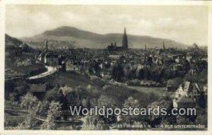 Von Der Winterstrasse Freiburg I B Germany 1937