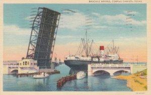CORPUS CHRISTI, Texas, 1930-1940s ; Bascule Bridge