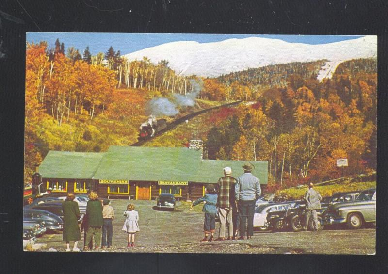 FABYAN NEW HAMPSHIRE MT. WASHINGTON COG RAILWAY RAILROAD