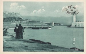 ANTIBES, Alpes Maritimes, France, 1900-1910´s; Horbour View