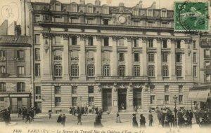 CPA Paris 10e - LL. 1406. La bourse du Travail Rue du Chateau d'Eau (80650)