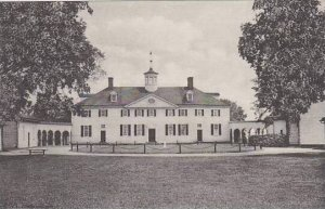 Virginia Mount Vernon The West Front Home Of George Washington Albertype