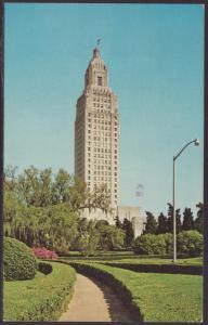 State Capitol,Baton Rouge,LA Postcard BIN