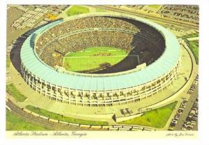 Aerial View, Atlanta Stadium, Atlanta, Georgia, 50-70s