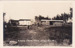 RP; KUROKI, Saskatchewan, Canada, A New Farmstead, 1910s