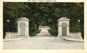 Gate to the Campus - Columbia MO, Missouri - WB