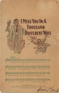 Gus Edwards: Miss You in a 1000 Different Ways~Stung Again~Banker Pulls Hair Out