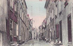 Quebec, Canada; PU-1906; Little Champlain Street