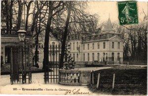 CPA Ermenonville- Entree du Chateau FRANCE (1020494)