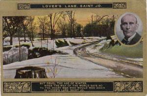 Eugene Field No 8 Lover's Lane Saint Jo