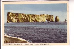 Perce Rock 288 Feet Hight, 1500 Feet Long Quebec, PR15, PECO