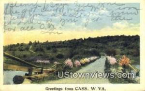 Cass, West Virginia, Post Card     ;     Cass, WV