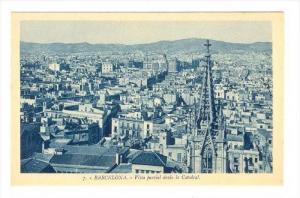 Barcelona, SPAIN , 00-10s   Vista Parcial desde la Catedral