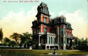Utah Salt Lake City Gardo House 1909