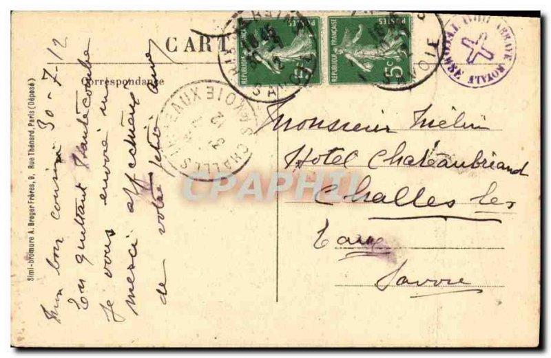 Old Postcard Notre Dame D Hautecombe
